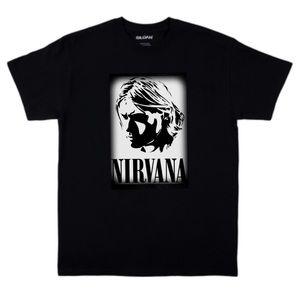 Nirvana Kurt Cobain Graphic Tee in size S M L XL
